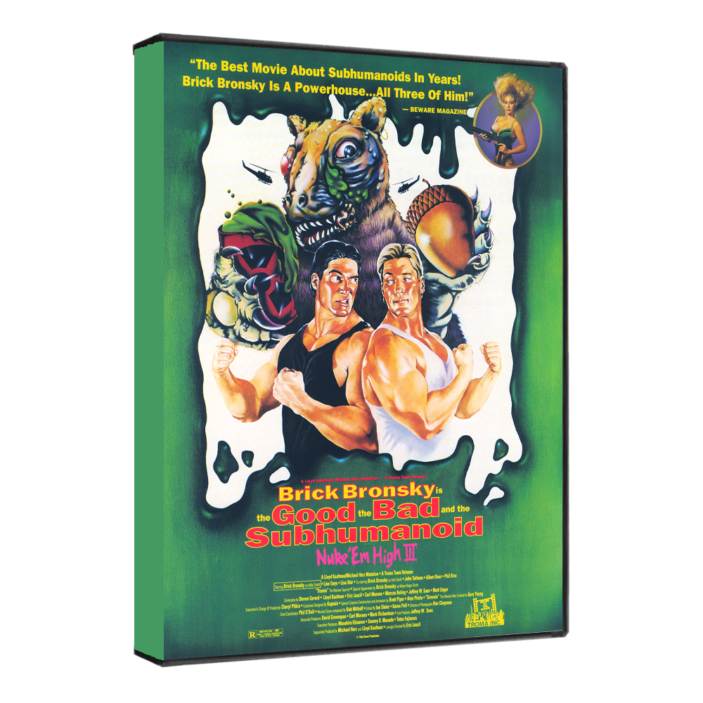 Class of Nuke 'Em High Part 3: The Good, The Bad and The Subhumanoid [DVD]