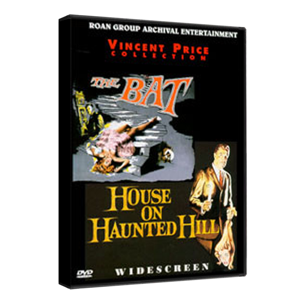 Bat The House On Haunted Hill Dvd Double Feature