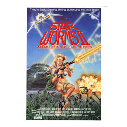 star worms ii attack of the pleasure pods movie poster troma direct