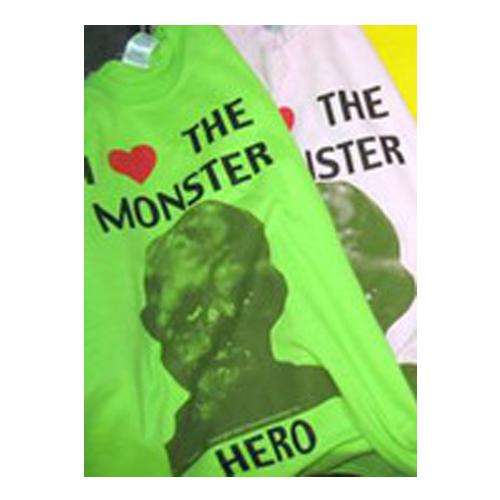 d43da7cbba1 I Love the Monster Hero T-Shirt  Apparel