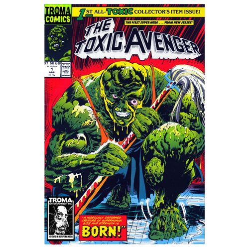 the toxic avenger comic book 01 digital download troma direct