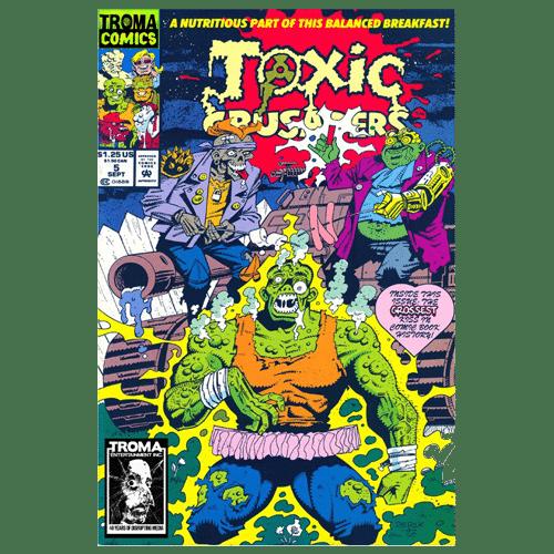toxic crusaders comic book 05 digital download troma direct